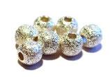 Kugel diamantiert silber 925 ∅ 5mm