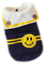 "Hundepullover ""Smile"" blau"