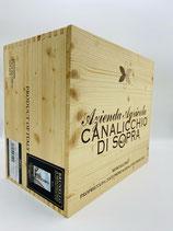 Canalicchio de Sopra - 2011 Brunello di Montalcino Magnum 6 Flaschen in Holzkiste