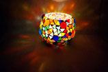 Mosaik Windlicht große Kugeln