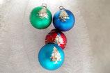 Weihnachtskugel Hirsch 26 st. Div. Farbe