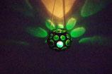 Mundgeblasene Hänge  Windlicht Mittelalter Grün