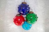 Weihnachtskugel Hügelchen 23 st. Div. Farbe