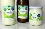 Bio-Heumilch Produkte