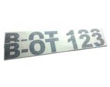 Bootskennzeichen | Kennzeichen für ihr Boot