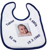 Babylätzchen mit Klettverschluss