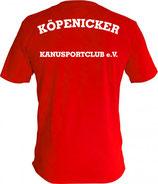 "Shirt B&C inkl. Rückendruck ""Köpenicker Kanusportclub e.V."" ( ohne Brustdruck )"
