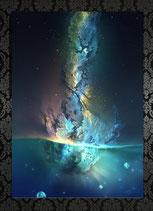 Burst into Life extra large size print 100x140cm
