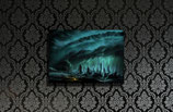 City of Thunder medium size print 50x70cm