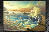 on Shore of the Sky, extra large size print 70x100cm