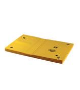 Boards weich, 8er-Set - gelb