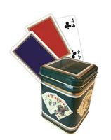 """Blechdose """"Spielkarten"""""""