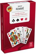Senioren-Rommé, extra große Karten