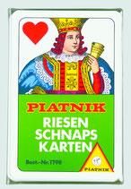 Schnapskarten - Riesenschnapskarten, franz. - 24 Blatt