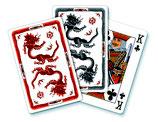 Meissen - Ming Drache, rot/grau-schwarz