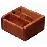 Bietboxen Thuja-Holz, 4er-Set