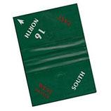 Boards weich, 8er-Set - grün