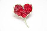 Rosenblätter Herz