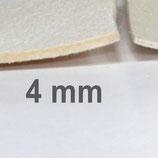 Druckfilz 40 x 80 cm, 4 mm dick, gepresst