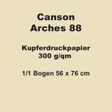 3 Bögen Canson Arches 88 300 g/qm