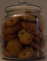 cookies aux éclats de noisettes