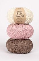 SOFT TWEED - Ein Tweed-Klassiker aus Alpaka superfine und Merinowolle