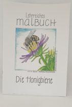 """Lehrreiches Malbuch """"Die Honigbiene"""""""