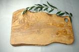 オリーブ木 カッティングボード ラスティック42cm