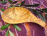 オリーブ木 木の葉形皿小20cm