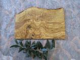 オリーブ木 カッティングボード角形ラスティック30cm