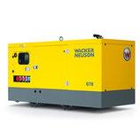 Wacker Neuson G 78 Stationair Diesel Aggregaat - 400 V