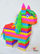 Bunte Burro-Piñata