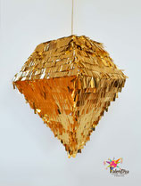 Diamant-Piñata in Gold