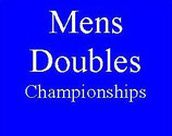 Mens Doubles