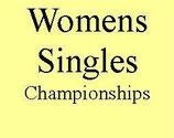Womens Singles