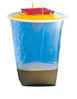Fliegenfalle Standart 8 Liter wiederverwendbar Rein biologisch!