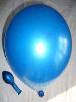 50 Luftballons metallic cyan Qualitätsware Ø ca. 27cm B85 (Standardgröße)