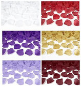 500 Rosenblätter - Freie Farbwahl