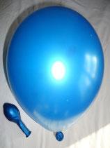 25 Luftballons metallic cyan Qualitätsware Ø ca. 27cm B85 (Standardgröße)