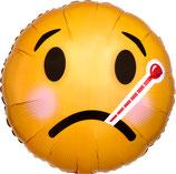 """Folienballon """"Get Well""""  Ballon Heliumballon, 43cm Durchmesser"""