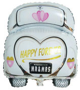 Folienballon Wedding Car Ballon ca. 80 x 60 cm