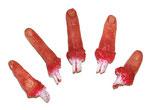 5 abgetrennte Finger - Grusel Spaß für Halloween
