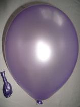 100 Luftballons metallic flieder Qualitätsware Ø ca. 27cm B85 (Standardgröße)