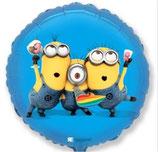 """Folienballon """"Minion Party"""" ca. 50cm einfach unverbesserlich"""