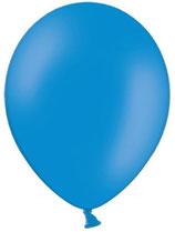 25 Luftballons blau Qualitätsware Ø ca. 27cm B85 (Standardgröße)