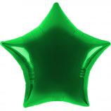 Folienballon Stern grün Ballon Heliumballon, 45cm Durchmesser