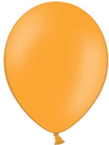 50 Luftballons orange Qualitätsware Ø ca. 27cm B85 (Standardgröße)