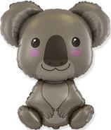 "Folienballon ""Koala"" ca. 85 x 70 cm"