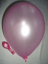 50 Luftballons metallic rosa Qualitätsware Ø ca. 27cm B85 (Standardgröße)