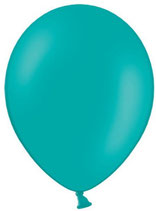 50 Luftballons türkis Qualitätsware Ø ca. 27cm B85 (Standardgröße)